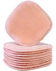 Polyte - Premium microvezel fleece doek om makeup te verwijderen en uw gezicht te reinigen - hypoallergeen en chemicaliënvrij - 10-pack - licht koraal - 13 x 13 cm