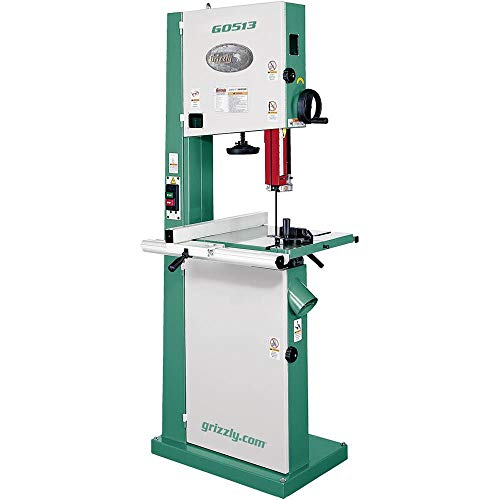 Grizzly G0513 2 HP Bandsaw, 17-Inch
