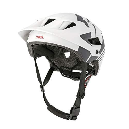 O'NEAL Defender Nova All Mountain MTB Fahrrad Helm weiß/schwarz 2020 Oneal: Größe: XS/M (54-58cm)