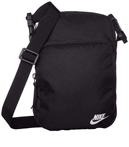 Nike Heritage 2.0 Small Items Mini Bag (one size, black/white)