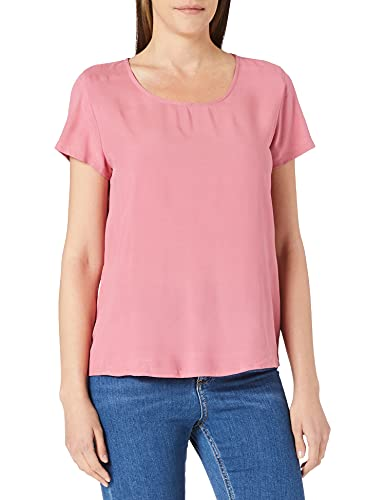 ONLY Damen ONLFIRST ONE Life SS SOLID TOP NOOS WVN T-Shirt, Baroque Rose, 38