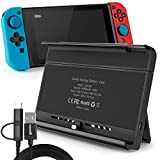 Battery Charger Case for Nintendo Switch, Portable Switch Battery Case with 10, 000 Mah Extended Travel Power...