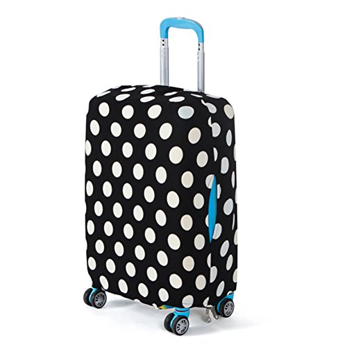 edhua Baggage Protective Cover,Tourism Fashion Suitcase Trolley Cover Dust Suitcase Cover 18 to 26 Inches