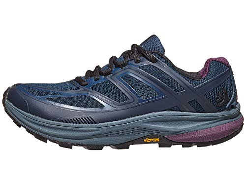 Topo Athletic Ultraventure Trail Running Shoe - Women's Navy/Plum 8.5