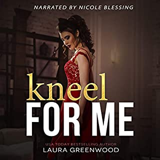 Kneel for Me audiobook cover art