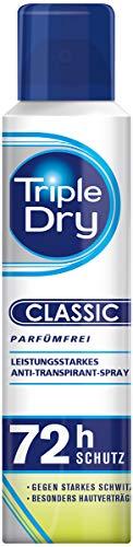 Triple Dry Anti-Persp-Spray, ohne Duft, 150 ml