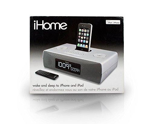 iHome ip87 AM/FM Radio iPhone/iPod Docking Digital Dual Alarm Clock