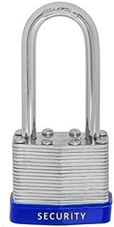 24 PC Piece Set 40 MM Dynamite Locks Long Shackle Laminated Padlock Keyed Alike Commercial Grade Padlocks Keyed Alike same a like (Pack of 24)