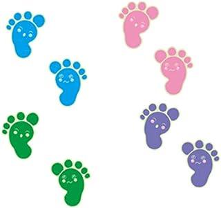 Luminous Footprints Floor Sticker for Kids Baby Room Bathroom Floor Decoration Home Decor Decals Glow in The Dark Wall Sti...