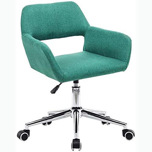 HMBB Sillas de Escritorio, Clásica silla de oficina ajustable turística - Silla de oficina ergonómica resistente al desgaste de lino, ergonómico Esponja Pad, ergonómico del respaldo, Silla de oficina,