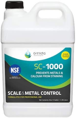 Orenda SC-1000-GAL Scale Control and Chelant 1-Gallon Metal Dealing full price reduction Max 49% OFF