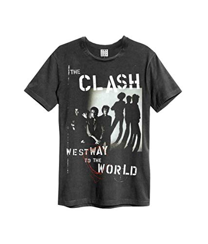 Amplified The Clash Westway To The World Camiseta Hombre