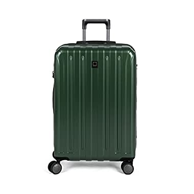 Delsey Helium Titanium 25  Exp. Spinner Trolley, Hunter Green
