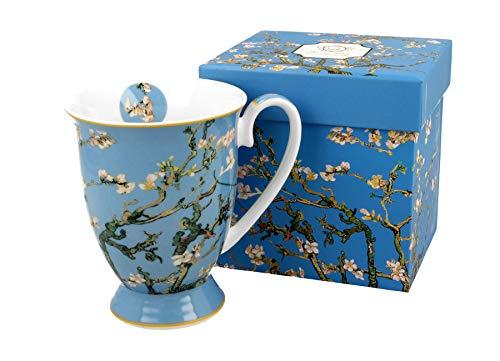 DUO Colección Art Galery by V. van Gogh royal Taza de 300 ml, Almond Blossom de porcelana china, en caja de regalo, taza clásica, taza de café y té