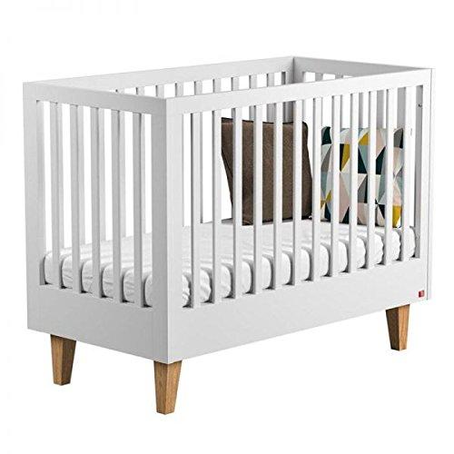 Lit bébé 60x120 Lounge Vox Baby Blanc