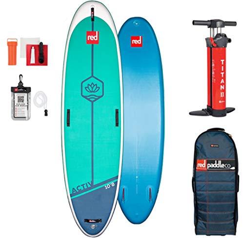 Red Paddle 10'8″ ACTIV Yoga Sup Table Adulte Unisexe, Multicolore, Uni