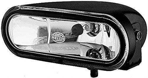 HELLA 1FA 008 284-011 Fernscheinwerfer - FF 75 - FF/Halogen - H7 - 12V - Ref. 12,5 - glasklare Streuscheibe - transparent - Anbau - Einbauort: links/rechts
