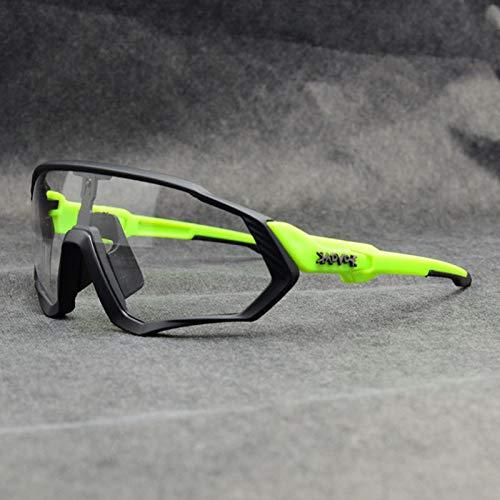 RSTT Gafas de sol Photocharmonic para ciclistas, hombres y mujeres, deportes al aire libre, gafas de sol para bicicleta
