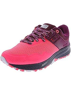New Balance Women's FuelCore Nitrel V2 Running Shoe, Pink zing/Claret/Pigment, 7 B US