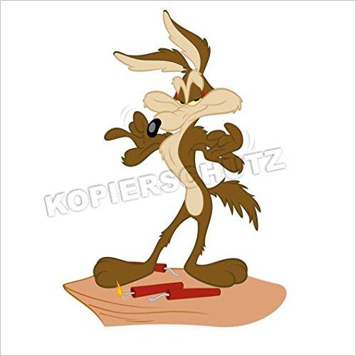 480/1 < Coyote > pegatina Sticker