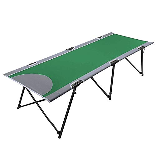 PORTAL Instant Folding Portable Camping Cot, Outdoor Sports Fold Up Bed