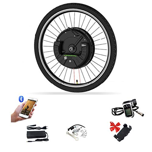 LiRongPing Ebike Motor Wheel 36V 350W IMotor 3.0 Electric Bike Front Wheel 24' 26' 29' 700C Electric Bicycle Conversion Kit Bicicleta Eletrica (Color : V Wire Control, Size : 700C)