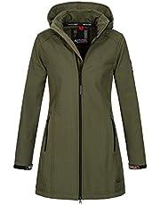 A. Salvarini AS-131 Softshelljas voor dames, waterafstotend, outdoor