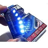 6 LED Car Led Fake Dummy Alarm Warning Light Solar Power Simulated Security Anti-Theft Flashing Light Car Burglar Alarm Light