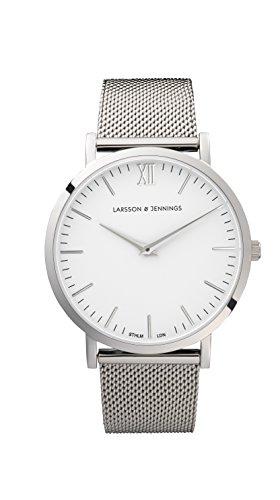 Larsson & Jennings Women's Lugano Watch, Silver/White, One Size
