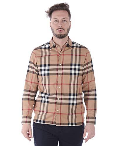 BURBERRY - Camisa Hombre 8004881 Richard Beige