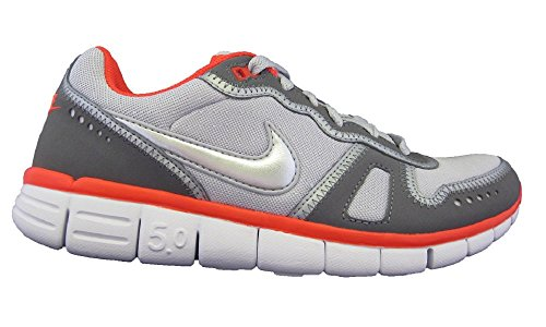 Nike Free Waffle AC 5.0 Laufschuhe Sneaker grau/weiß/rot, Schuhgröße:EUR 42.5, Farbe:grau/weiß/rot