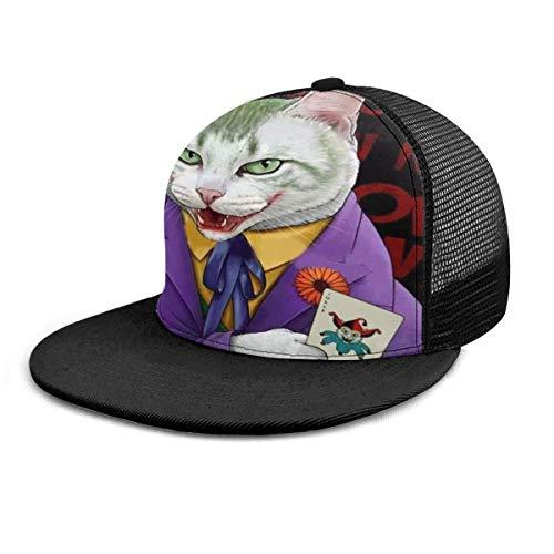 NA Gorra de béisbol Joker Cat Postal Sombrero de ala plana...