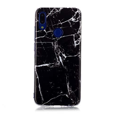 Dmtrab Phone Case for Caja de Nota 7 de Xiaomi Redmi, Modelo de Dibujo de Color IMD MAYMANCHIP Funda Protectora Soft TPU (Cielo Azul) Caja del teléfono Funcional (Color : Black)