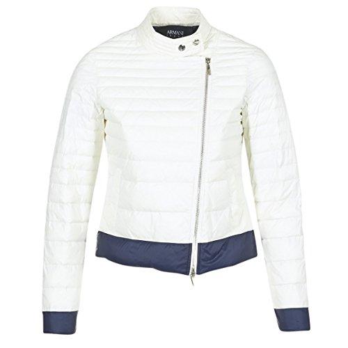 ARMANI Jeans BEAUJADO Abrigos Femmes Blanco - EU 40 (IT 44) -...