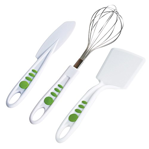 Curious Chef Children's 3-Piece Baking Tool Set