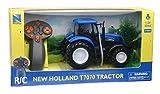 NewRay- TRACTEUR New Holland T7.315 R/C 1/24 Farm Play Set, Multicolore, 87893