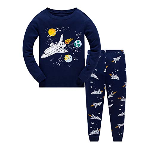 Maemukilabe Toddler Baby Unisex Long Sleeve Homewear Ribbed Knitted Outfits Solid Pajamas Sleepwear Sports 2Pcs Clothes Set