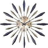 Linjolly Relojes de Pared Moda Creativa con batería con dígito árabe para la decoración de la Sala de Estar