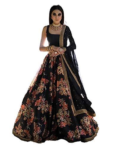 Lehenga Choli, MJ36, indische Designerin, traditionell, exklusiv, 3 Stück