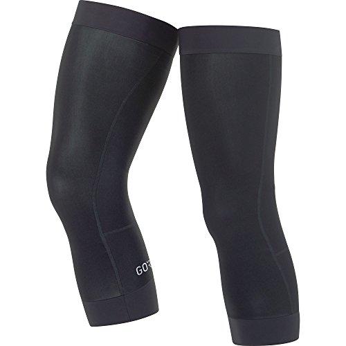 GORE Wear Atmungsaktive Unisex Kniewärmer, C3 Thermo Knee Warmers, Größe: M-L, Farbe: Schwarz, 100395