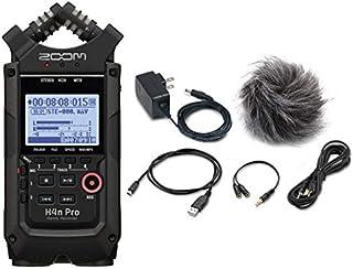 ZOOM ズーム - ハンディーレコーダー H4n Pro BLK - All Black Edition - + アクセサリーパッケージ APH-4n Pro セット
