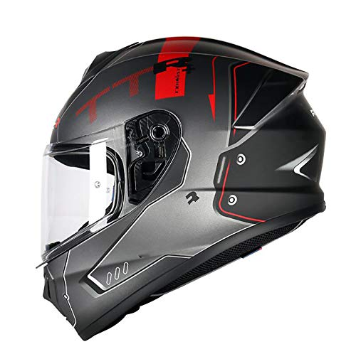 Motorcycle Full-Face Helmets Full Face Motorcycle Helmet Modular Sports Helmet DOT/ECE Certification Moped Street Car Racing Adult Outdoor Travel