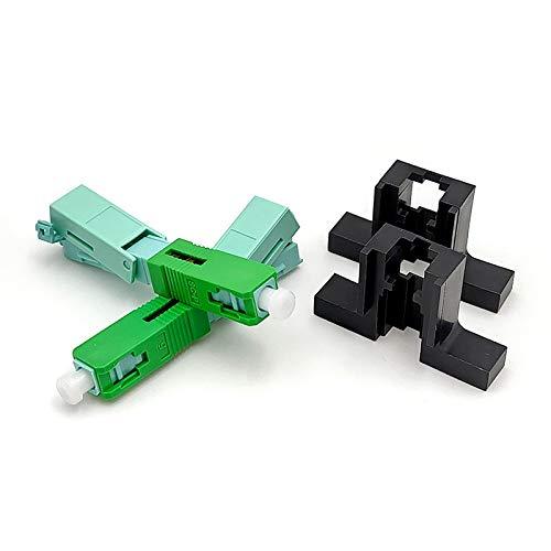 Without brand LT-Home, Schneller SC APC Stecker Single-Mode-Anschluss FTTH-Tool Kalt Connector Tool Fiber Optic Schneller connnector 53mm (Größe : 200PCS)