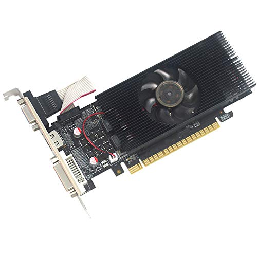 WOCTP Gaming Graphics Cards GTX1050 2G DDR5 128bit, Radeon diskrete Grafikkarte für Gaming-PC-Gaming-Desktop-Computerkarten