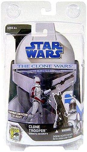 Clone Trooper Senate Security San Diego Comic Con Exclusive - Star Wars The Clone Wars 2008 von Hasbro