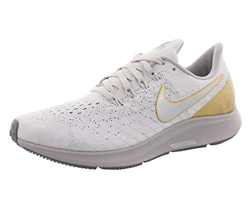 Tênis feminino Nike Air Zoom Pegasus 35 Metallic Premium, Vast Grey/Metallic Platinum, 11