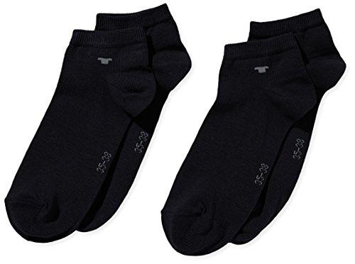 Tom Tailor Unisex - Erwachsene Sneakersocke 2 er Pack 9411N / Tom Tailor unisex sneaker 2 pack, Gr. 43-46, Blau (dark navy - 545)