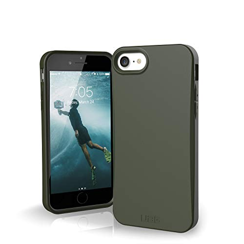URBAN ARMOR GEAR UAG Designed for iPhone SE 2020 Case Biodegradable Outback [Olive] 100% Biodegradable 100% Compostable Mindful Eco-Friendly Slim Protective Cover