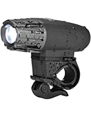 *Limited time offer* Hakea Round Super Bright LED Front Bike light - USB Rechargeable - Easy Mount - Bright light - Waterproof- High Lumens - Easy to Install - 4 modes selection - Li-ion Battery - up to 7 hours battery time - fits on any bike with 12-32 mm diameter - Bike Light