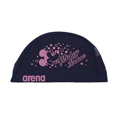 アリーナ (arena) スイミング用メッシュキャップ ディズニー パワーネット ネイビー Mサイズ DIS-0360